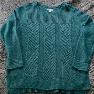 Dana Buchanan green sweater